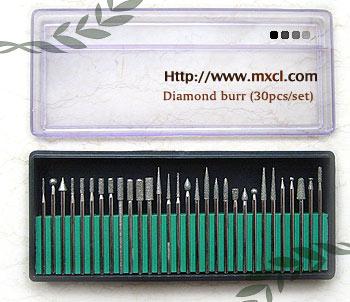DIamond Burr Set assortment of 30pcs