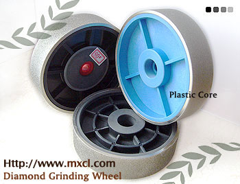 Diamond Grinding wheel with plastic core