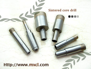 Sintered Metal-bonded Diamond Core Drill